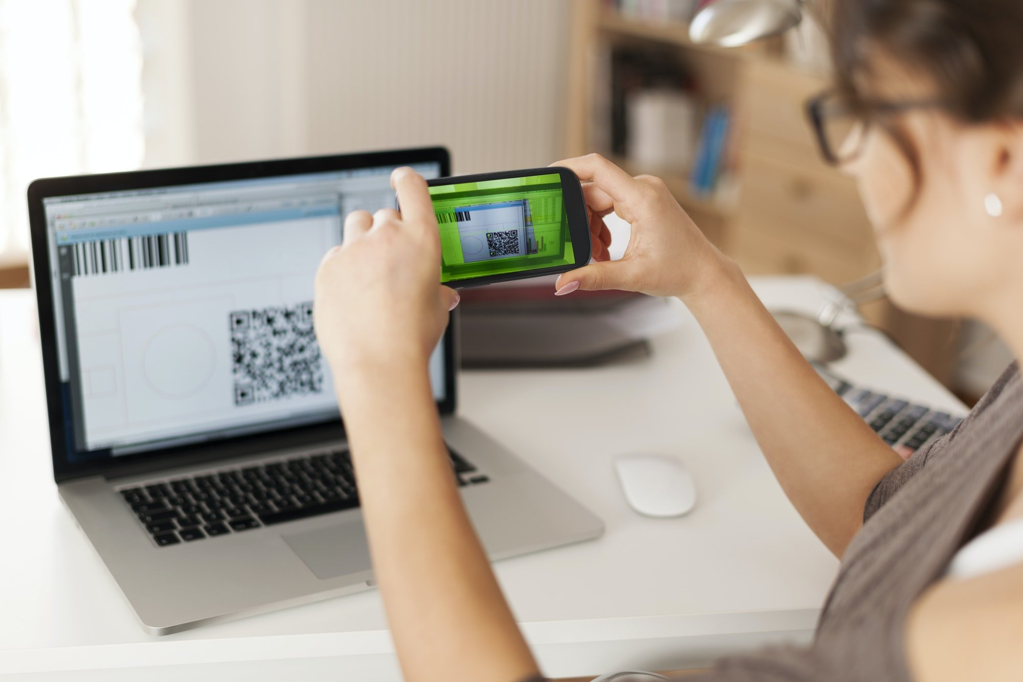 Paying bills by scanning qr code is faster and easier
